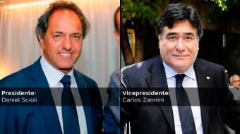 Daniel Scioli - Carlos Zannini (Frente Para la Victoria)