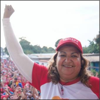 Yelitza Santaella, Partido: PSUV.