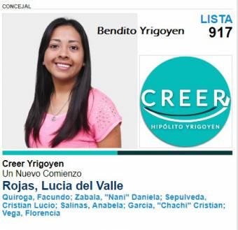Lucia Rojas-Lista 917