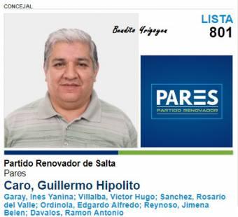 Guillermo Caro-Lista 801