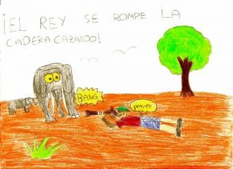 2. EL REY SE ROMPE UNA PIERNA