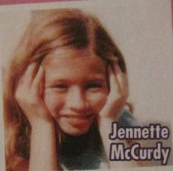 jenntte mcCurdy cuando pequeña