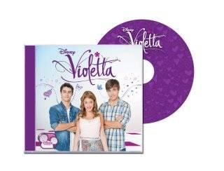1 cd llamado: violetta