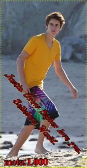 Justin Drew Bieber love you. Beliebers World.