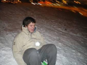 Con Coke a la nieve