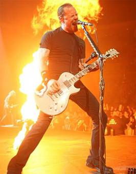 James Hetfield Estadounidense (Metallica)