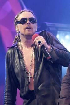 Axl Rose Estadounidense (Guns N Roses)