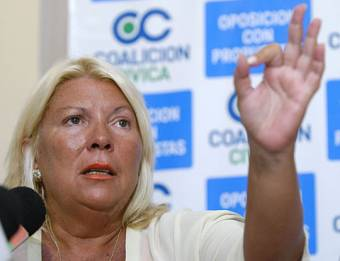 Elisa Carrio ( UNEN)