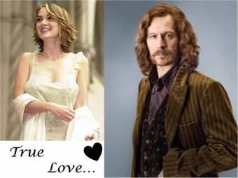 Sirius Black y Sophia Grindelwald