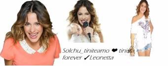 Felicitaciones Solchu_tiniteamo ❤ tinista forever ✓Leonetta..