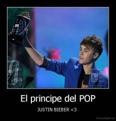 Justin bieber el principe del pop