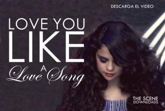 love a like song baby - selena gomez
