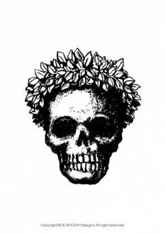 Calavera 4 Diseñada por un ilustrador muy reconocido en el mundo de las skull