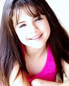Selena Gomez De pequeña.