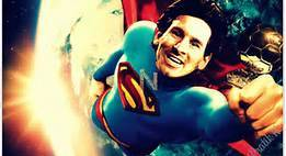 messi superman