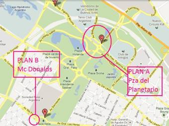 Plan B - Mc Donalds de Plaza Italia
