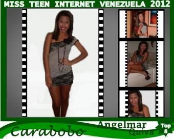 Miss Teen Internet Carabobo-Angelmar Quiva