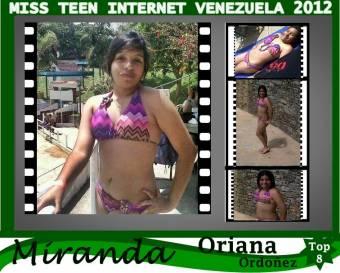 Miss Teen Internet Miranda-Oriana Ordoñez