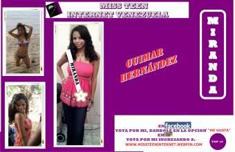 Miss Teen Internet Miranda-Guimar Hernandez