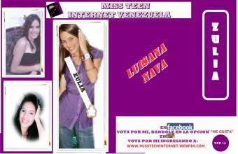 Miss Teen Internet Zulia-Luisana Nava