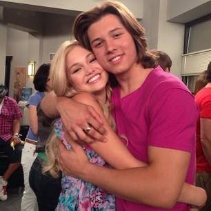 Olivia holt talks about dating luke benward girl