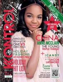 Por salir tan linda en la revista