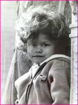 Zendaya de pequeña ya era un mounstruo