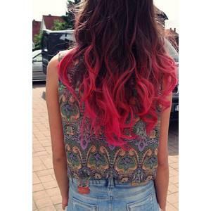 Colores de pelo en las puntas