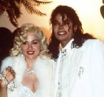 Michael Jackson y Madonna.