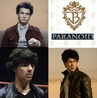 Paranoid(Jonas Brothers)