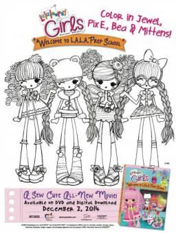 Que Dibujo Para Colorear Es Mejor Lalaloopsy Girls O Mlpeg