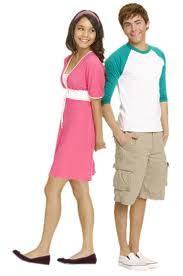 Troy y Gabriella de High School Musical