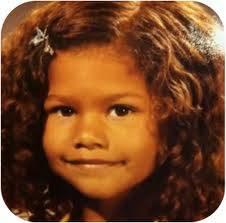 zendaya era guapa de pequeña