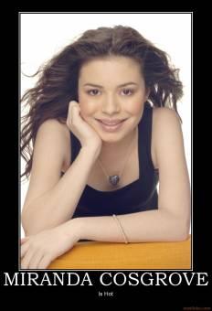 miranda cosgrove - actriz y cantante