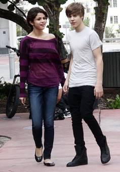 Justin bieber y Selena gomez ♥