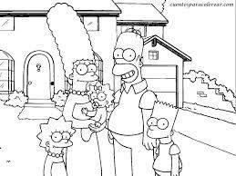 Simpson Para Colorear Votación