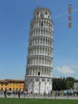 la torre de pizza