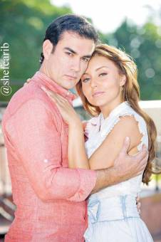 ANGELIQUE BOYER Y DAVID ZEPEDA